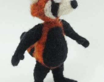 Needle Felt Red Panda