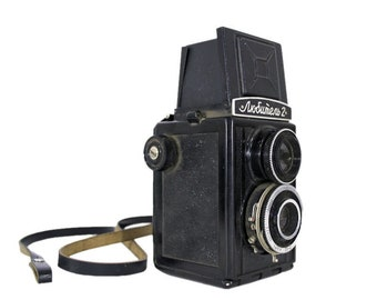 Lubitel 2camera, antique camera, vintage camera