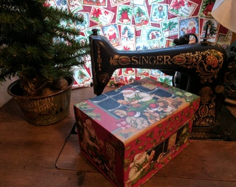 Santa's Workshop Mystery Quilt Box