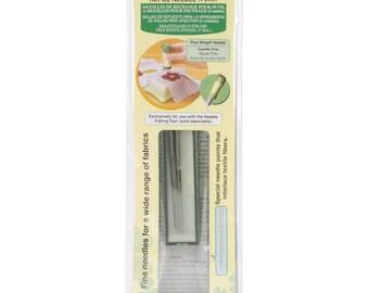 Clover Felting Needle Tool Refill Fine Weight 5/Pkg  #8905