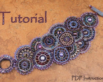 Beading Tutorial - Enchanted Evenings Bracelet