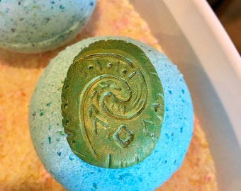 Heart of Tafiti Bath Bomb with hand crafted replica inside!