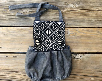 Romper 6 months sunsuit Boho Baby clothes girl outfit geometric print boho baby romper bohemian baby girl clothes photo outfit cute gift