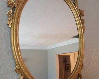 angel mirror vintage angel mirror shabby chic angel vintage angel