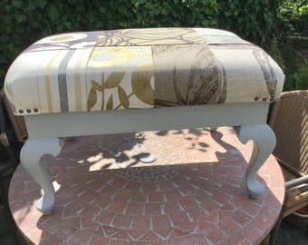 Patchwork Stool/Ottoman