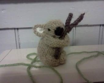 Knit Little Koala Bear
