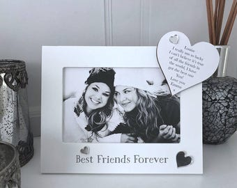 Personalised Best Friends Forever Photo Frame F46