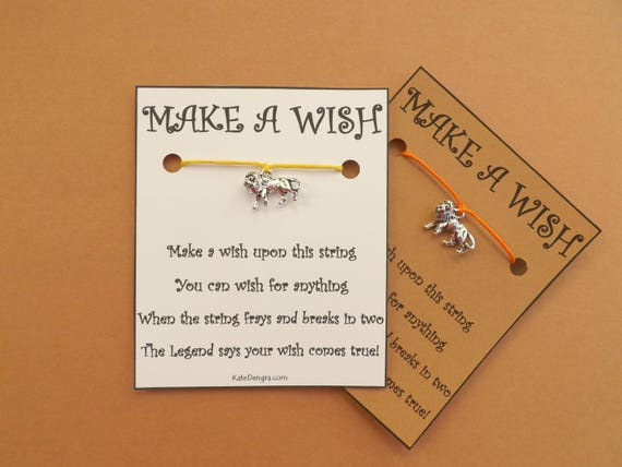 Lion Wish Bracelet