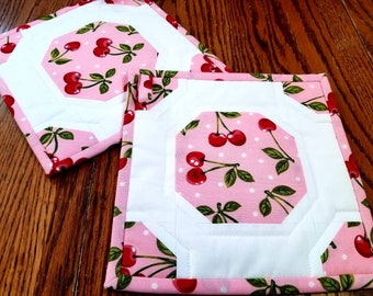 Sweet Cherry Potholders