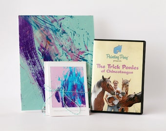Painting Pony Gift Set - Greeting Cards - Painting - DVD