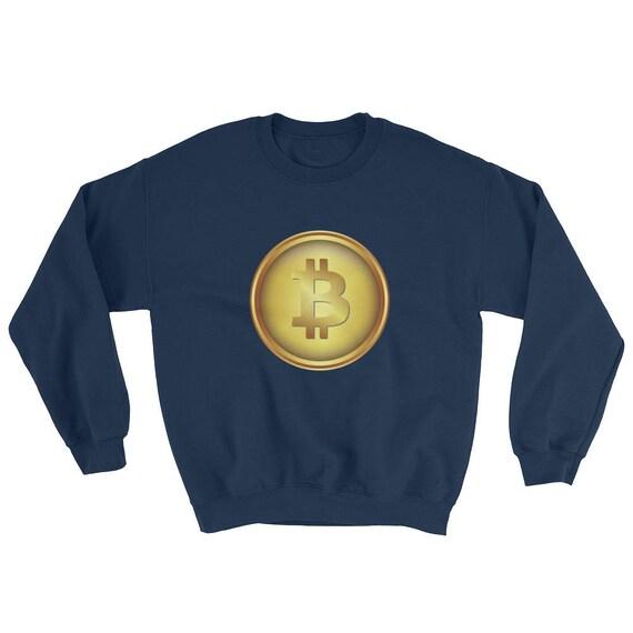 Bitcoin BTC Crypto-Currency Digital Coin Sweatshirt ETH Ethereum ICO Sweater