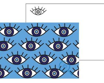 E Eyes Blue