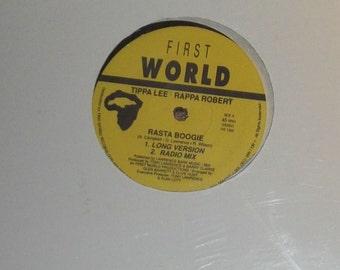 "Tippa Lee Rappa Robert Rasta Boogie Sealed Vinyl Reggae 12"" Record"