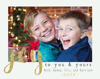 Custom Digital Christmas Card