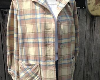 VTG 70s Patrick Duluth Top, Wool Jacket, Wool Blazer, Plaid Jacket