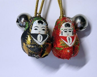 Hand-made Japanese Doll Charms