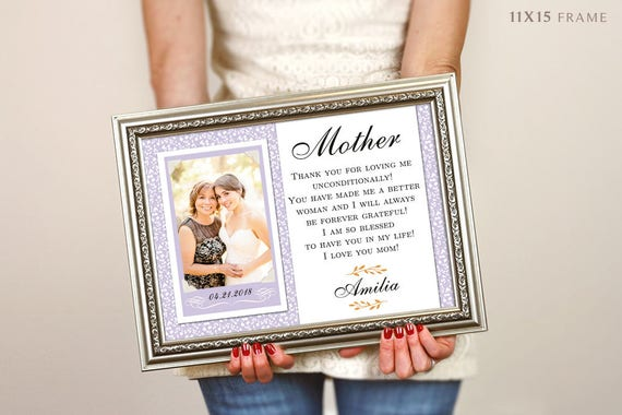 Mother Of The Groom Gift Mother Of The Groom Picture Frame