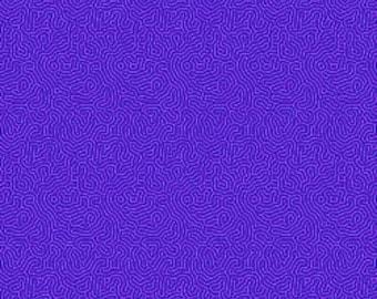 Maze Purple Basically Patrick RJR Fabric