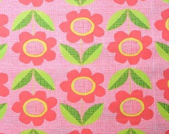Blooms in Red: Monaluna Organics - Havana Collection 1 Yard Cut