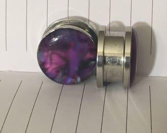 """Purple screw on 5/8"""" plugs"""