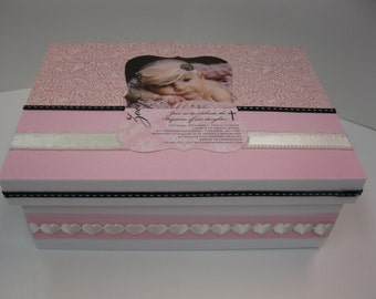 Girl Baptism or Christening - With Your invitation