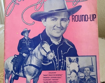 1943 Jimmy Wakely's Round-UP Sheet Music Book