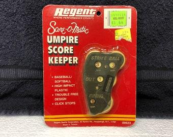 Vintage REGENT Score-O-Matic Umpire Score Keeper - Original Packaging - NOS
