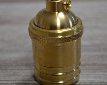 Brass vintage style socket E27/E26
