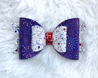 4th of july / Independence Day girls / infant hir bow!