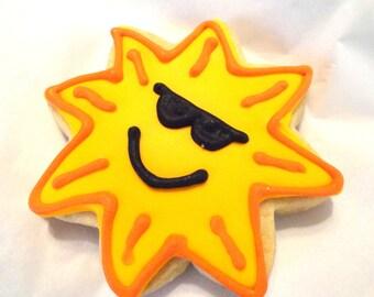 Custom sun cookies (2 dozen)