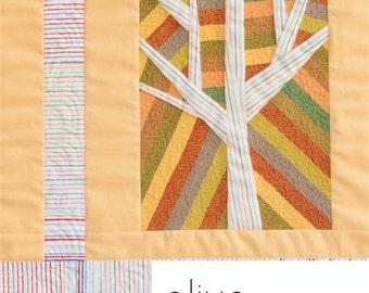 Olive Quilt Pattern by Carolyn Friedlander