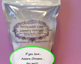 Azzaro Chrome type laundry detergent 11 oz