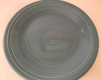 Vintage Fiesta Ware Perriwinkle Blue  Dinner Plate-Great condition