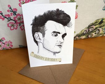 Morrissey Birthday Card