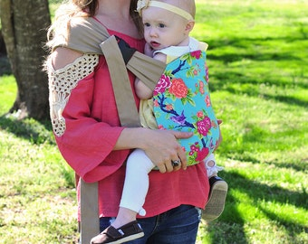 Baby carrier, hip carry