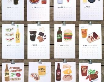 beer/food 2013 calendar