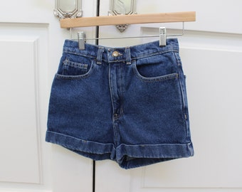 90s70s 60s high wasted jean shorts