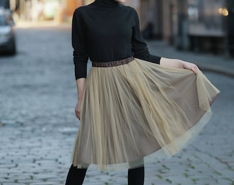 Tulle skirt in different colours