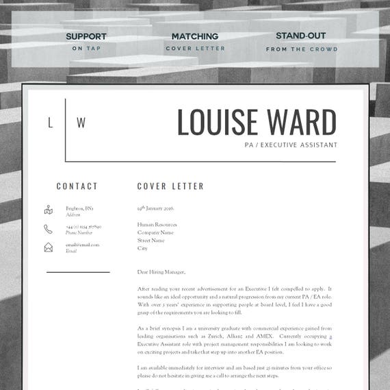 Resume Template Cv Template Cover Letter Resume Advice