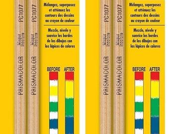 Prismacolor Premier Colorless Blender Pencils,2- PACKS of 2-Count
