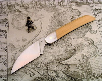 pinch-spring knife