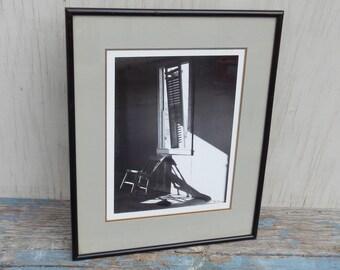 Artsy 1980's Signed Photography Art!