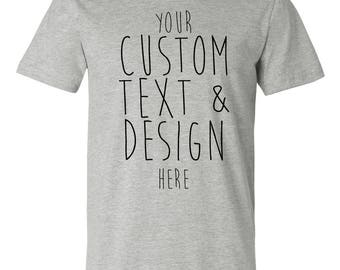 Custom Bella & Canvas T-shirts - Available in UNISEX and YOUTH sizes.