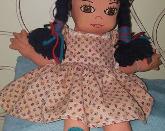 Hopi Native American hand made doll