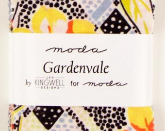Gardenvale - Mini Charm Pack by Jen Kingwell for Moda