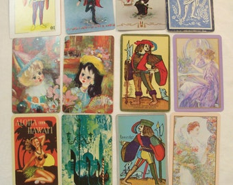 12 Playing Cards,  Playing Card Swap, People Playing Cards, Playing Card Lot, Travel Journal