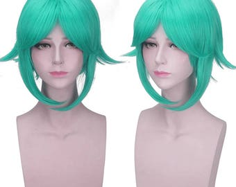 Land of the Lustrous Phosphophyllite Cosplay wig Full Hair