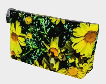 Daisy Garden Make Up Bag