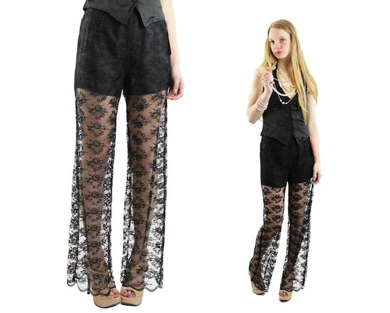 Sheer Dress Pants