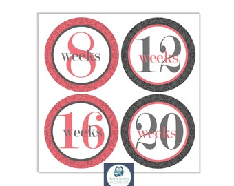 DIGITAL Printable Belly Stickers, Pregnancy Stickers, Maternity Stickers, Lace Pattern, PDF